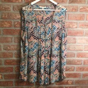 Daniel Rainn 2X sleeveless blouse